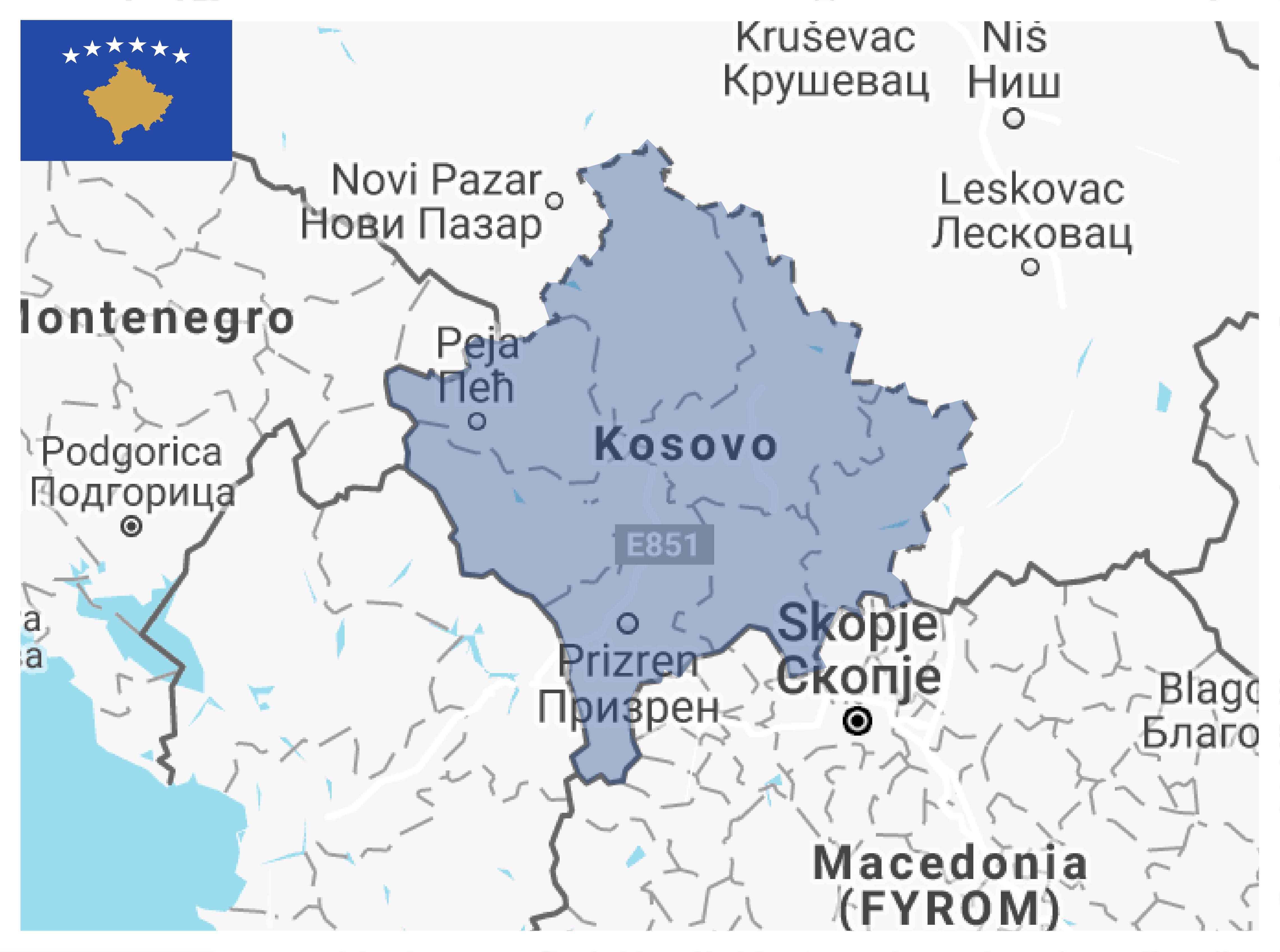 Kosovo usip kosovo map gumiabroncs Gallery